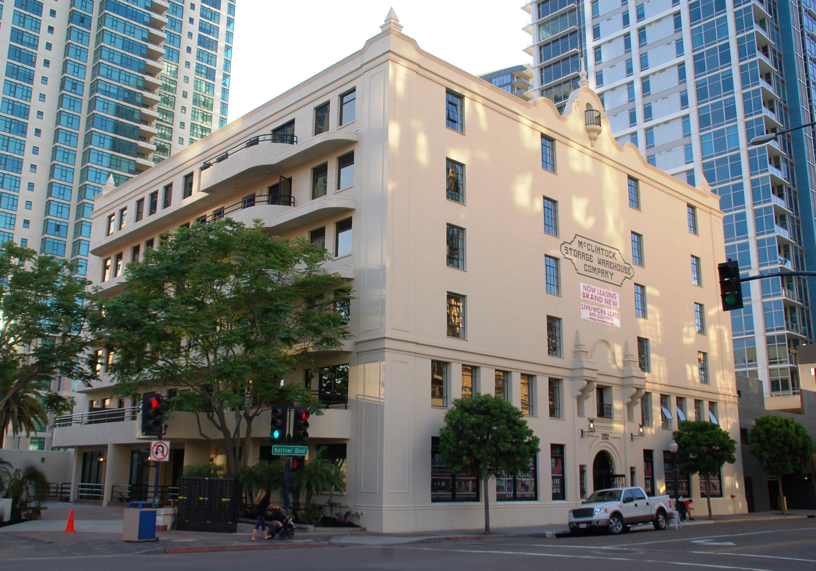 Mcclintock Warehouse Lofts Downtown San Diego Rentals